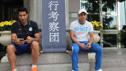 عکس یادگاری استقلالی ها در کشور کره,عکس تیم استقلال