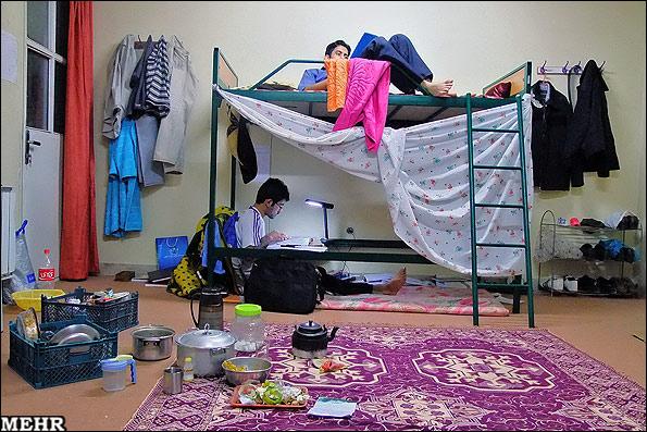 عکس های جالب خوابگاه پسرها
