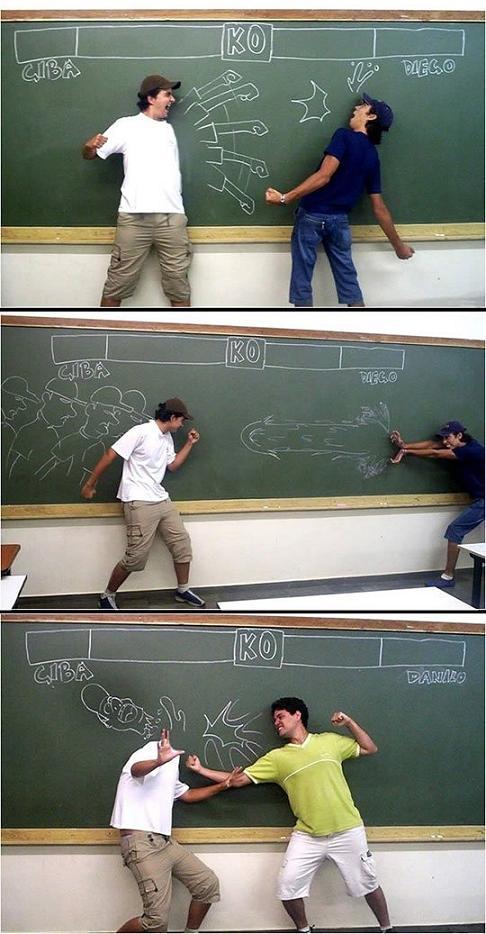 عکس خنده دار خلاقیت دانشجوها