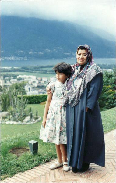 عکس کودکی باران کوثری