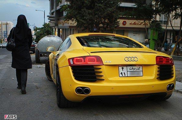 عکس ماشین های گران قیمت در ایران