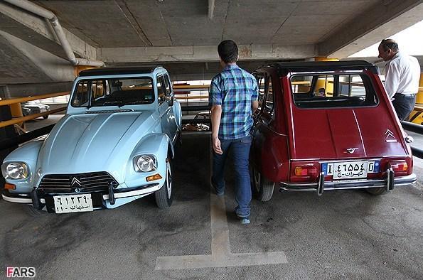 عکس نمایشگاه ماشین های قدیمی در تهران