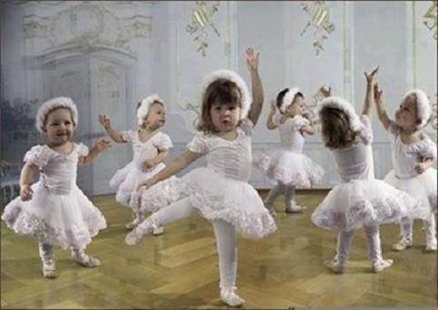 عکس باحال رقصیدن دخترها
