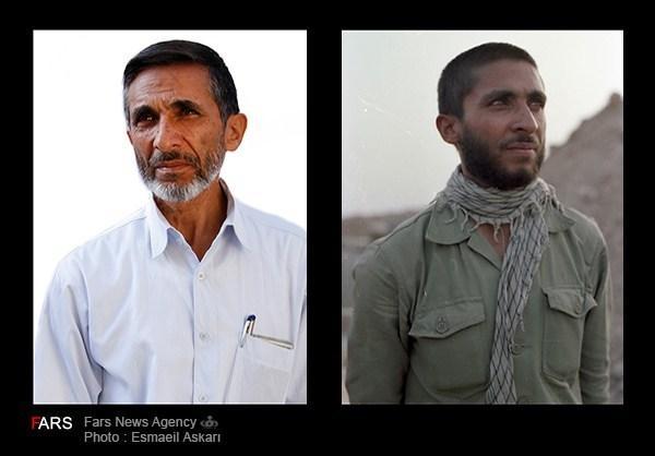 عکس های مقایسه رزمندگان دیروز و امروز,تصاویر جالب رزمندگان