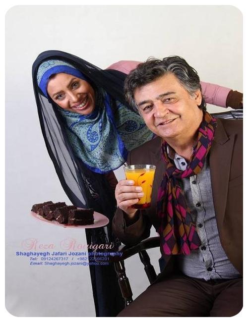عکس های جدید رضا رویگری و همسرش