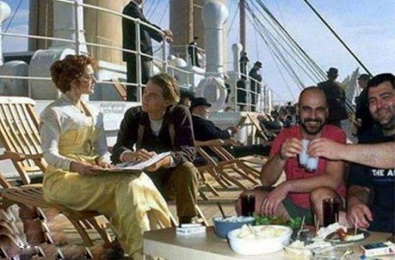 صحنه سانسور شده فیلم تایتانیک