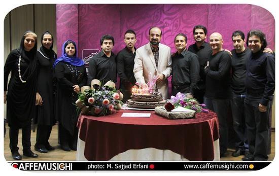 عکس مراسم جسن تولد محمد اصفهانی,کنسرت محمد اصفهانی