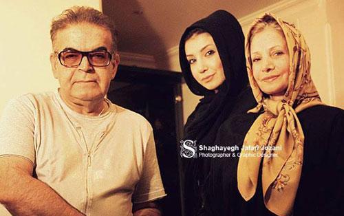 عکس دختر و همسر حمید لولایی