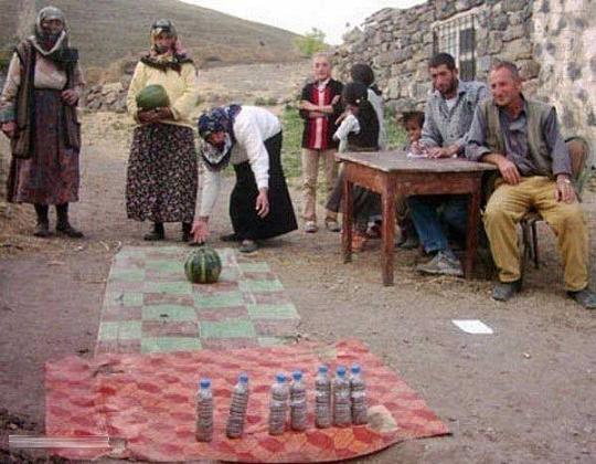 لیگ قهرمانی بولینگ در ایران - عکس خنده دار