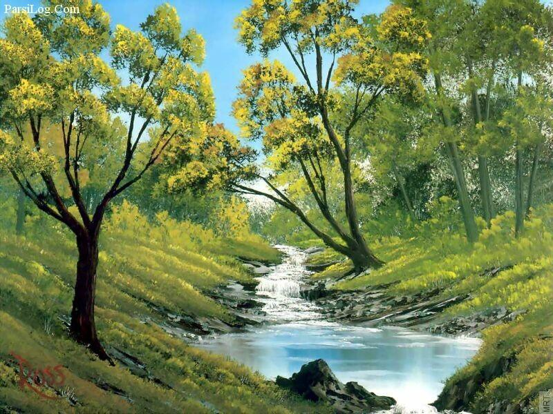 10 نقاشی برتر از باب راس,طرای های زیبا باب راس