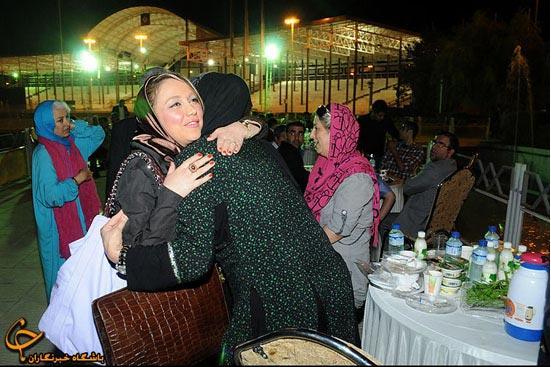 عکس بهنوش بختیاری,افطاری,ماه رمضان