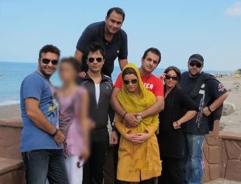 گزارش و عکس بدحجابی بازیگران ایرانی