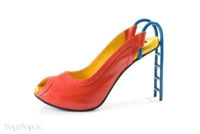 rahafun.com kafshe ajib 1 عکس مدل های عجیب کفش پاشنه بلند