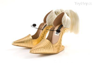 rahafun.com kafshe ajib 16 عکس مدل های عجیب کفش پاشنه بلند