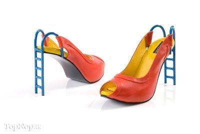 rahafun.com kafshe ajib 2 عکس مدل های عجیب کفش پاشنه بلند