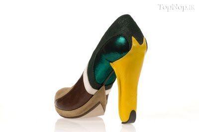 rahafun.com kafshe ajib 9 عکس مدل های عجیب کفش پاشنه بلند