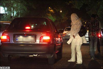 عکس دخترای خیابانی,زنان بی حجاب