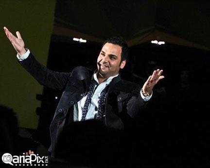 کنسرت فرزاد فرزین,عکس بازیگران در کنسرت فرزاد فرزین