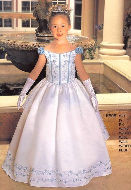 Сшить бальное платье своими руками для девочки
