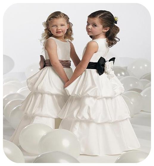 مدل های لباس عروس دخترانه 2013