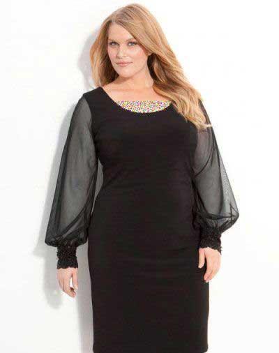 مدل لباس مجلسی خانم های تپل,جدیدترین مدل لباس مجلسی زنانه