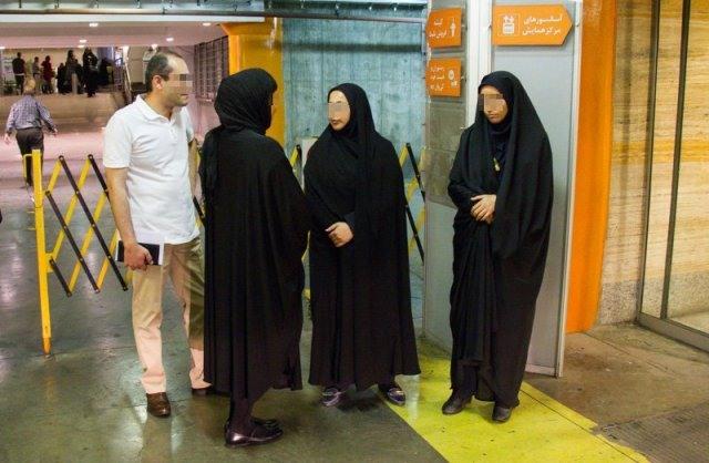 عکس جدید مبارزه با بدحجابی,عکس دختر بی حجاب