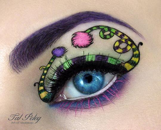 عکس مدل های فانتزی آرایش چشم
