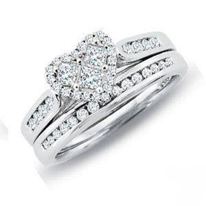 مدل حلقه ازدواج زنانه,حلقه نگین دار