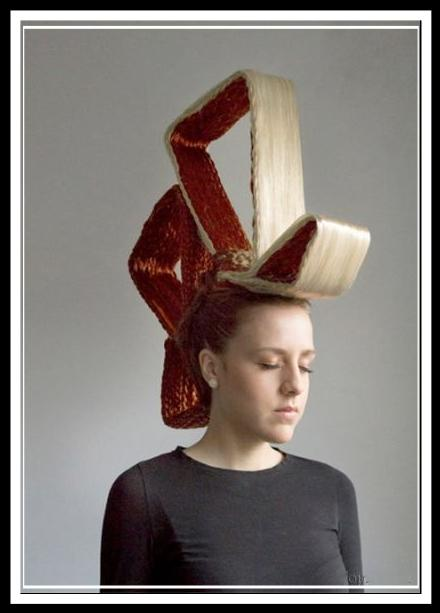 مدل موهای عجیب زنانه