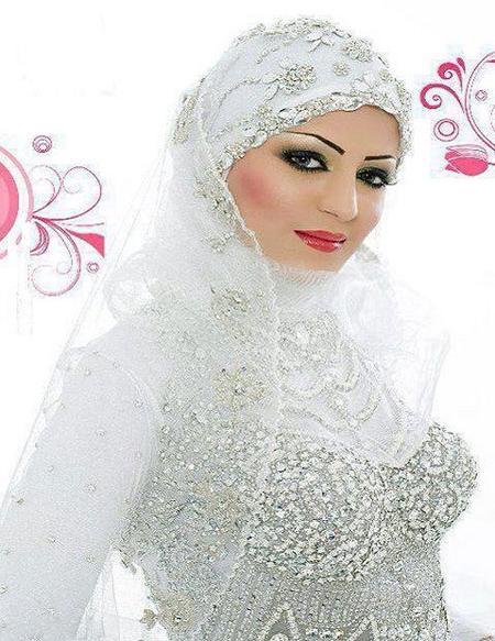 مدل های جدید تور عروس,تور عروس خوشگل و محجبه