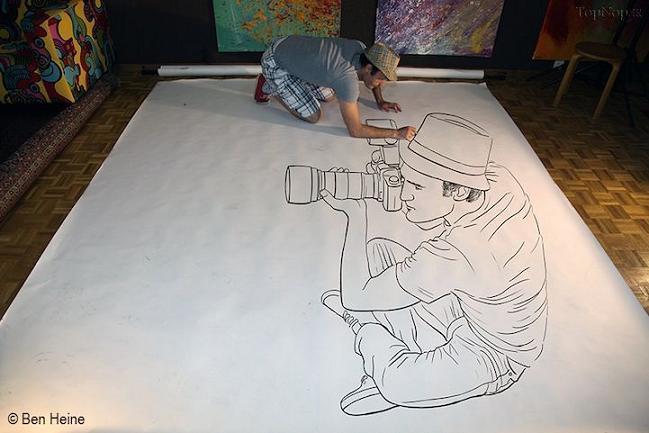عکس های جالب,نقاشی های 3 بعدی جالب