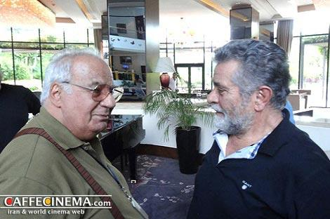 عکس جالب ناصر ملکمطیعی و بهروز وثوقی,عکس بازیگران قدیمی