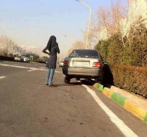 عکس رانندگی خوب دخترها