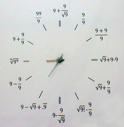 ابتکاری جالب ریاضی - عکس جالب