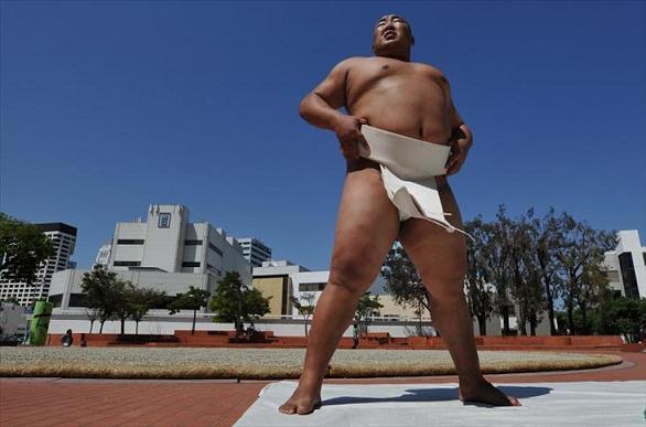 rahafun.com sumo tournament 21 عکس های جالب کشتی سومو Sumo