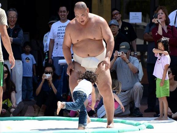 rahafun.com sumo tournament 23 عکس های جالب کشتی سومو Sumo