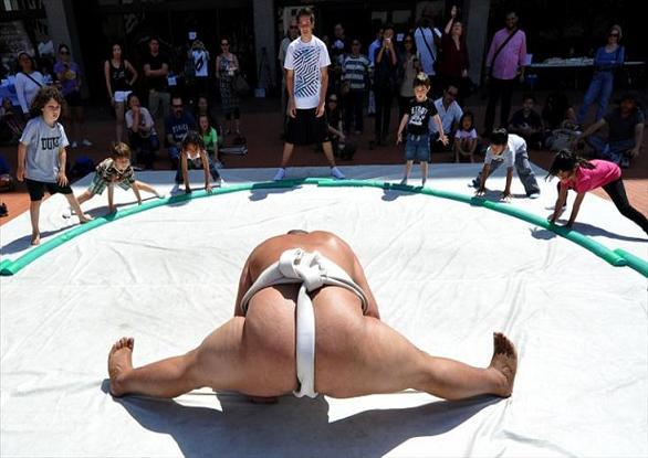 rahafun.com sumo tournament 24 عکس های جالب کشتی سومو Sumo