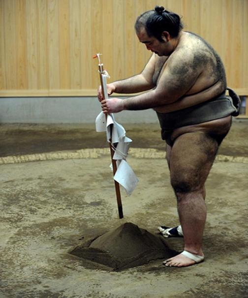 rahafun.com sumo tournament 5 عکس های جالب کشتی سومو Sumo