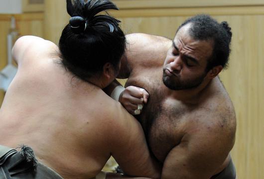 rahafun.com sumo tournament عکس های جالب کشتی سومو Sumo