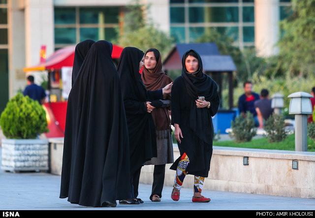 rahafun.com tasavir gshte ershad 10 عکس برخورد با بد حجابی در کنسرت مازیار فلاحی