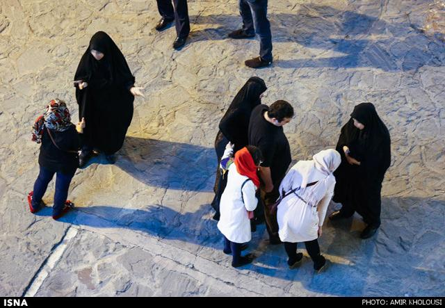 rahafun.com tasavir gshte ershad 13 عکس برخورد با بد حجابی در کنسرت مازیار فلاحی