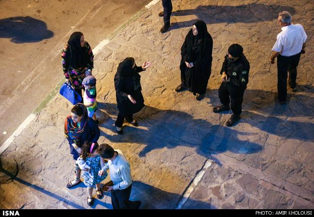 rahafun.com tasavir gshte ershad 15 عکس برخورد با بد حجابی در کنسرت مازیار فلاحی