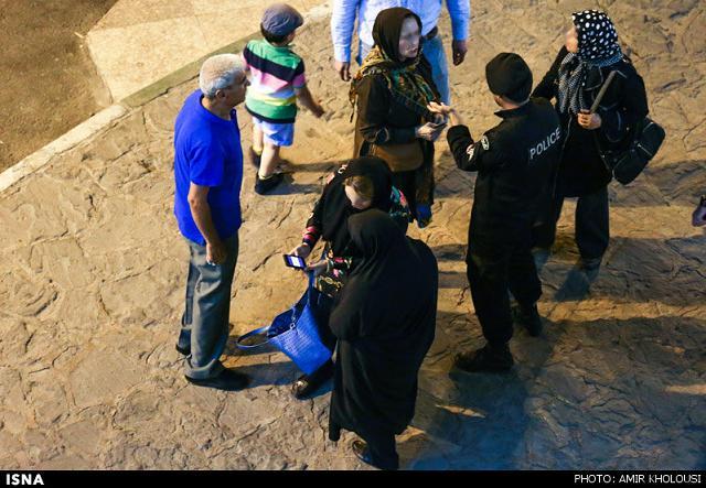 rahafun.com tasavir gshte ershad 16 عکس برخورد با بد حجابی در کنسرت مازیار فلاحی