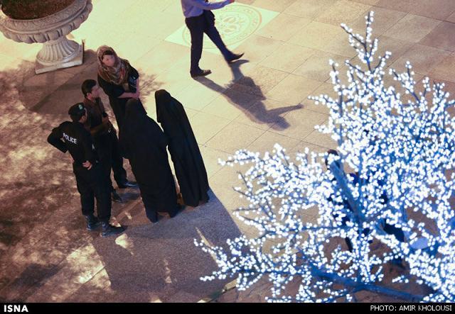 rahafun.com tasavir gshte ershad 17 عکس برخورد با بد حجابی در کنسرت مازیار فلاحی