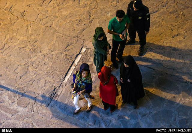 rahafun.com tasavir gshte ershad 19 عکس برخورد با بد حجابی در کنسرت مازیار فلاحی