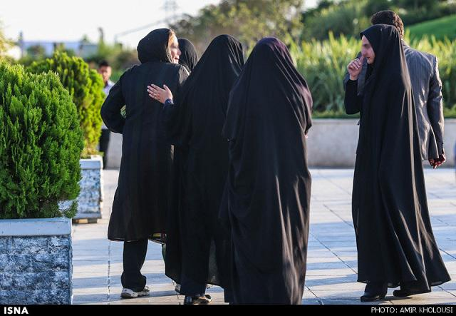 rahafun.com tasavir gshte ershad 2 عکس برخورد با بد حجابی در کنسرت مازیار فلاحی