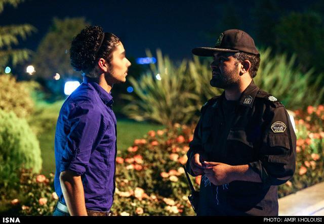 rahafun.com tasavir gshte ershad 20 عکس برخورد با بد حجابی در کنسرت مازیار فلاحی