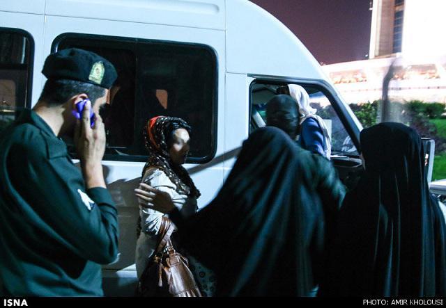 rahafun.com tasavir gshte ershad 22 عکس برخورد با بد حجابی در کنسرت مازیار فلاحی