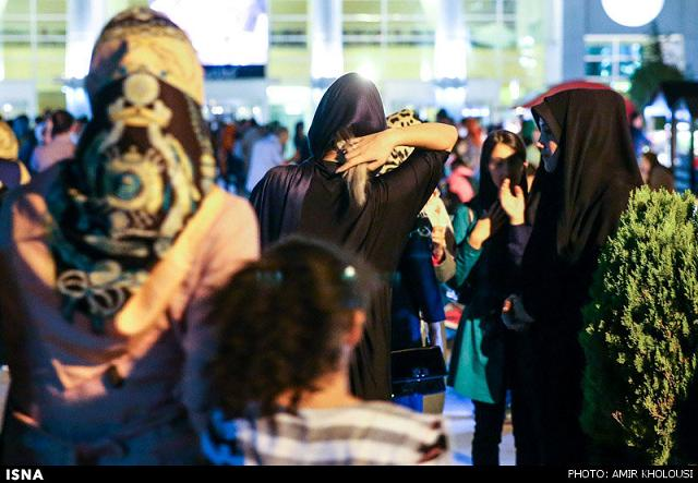 rahafun.com tasavir gshte ershad 24 عکس برخورد با بد حجابی در کنسرت مازیار فلاحی