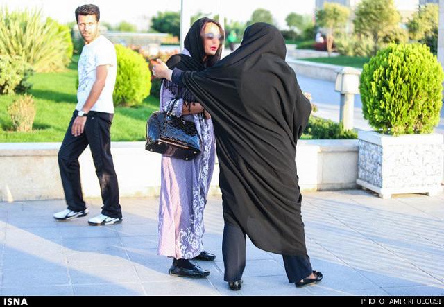 rahafun.com tasavir gshte ershad 3 عکس برخورد با بد حجابی در کنسرت مازیار فلاحی